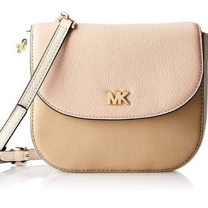 Michael Kors Pebble Leather Half Dome Crossbody